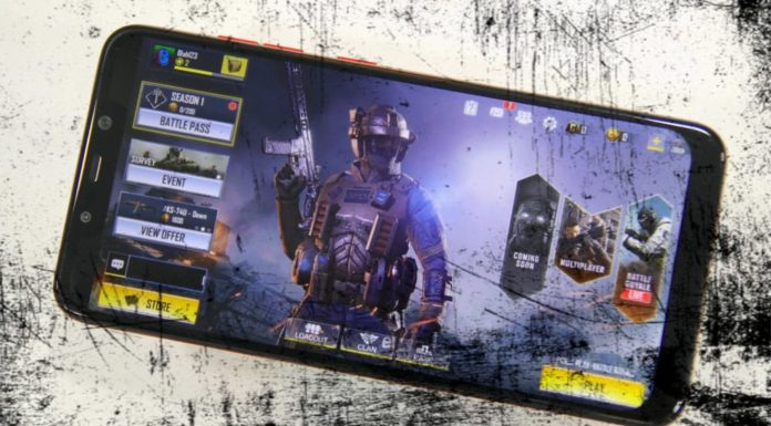 Call of Duty Mobile Samsung Galaxy Note 10