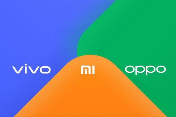 Xiaomi OPPO Vivo AirDrop