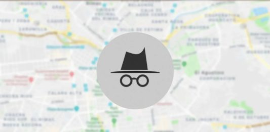 Google Maps Modo Incógnito