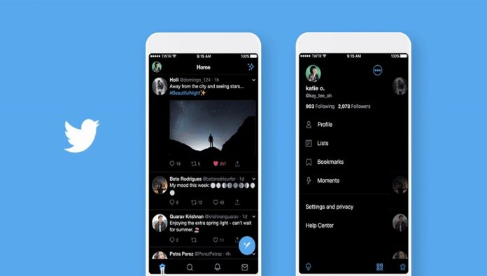Twitter Modo Oscuro Android
