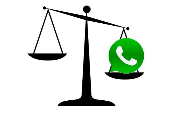 WhatsApp juez validez legal