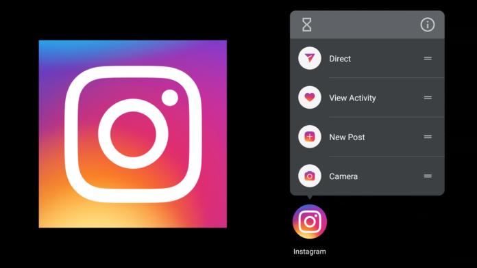 Instagram Android accesos directos atajos