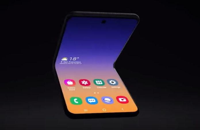 Samsung móvil plegable 2020