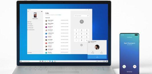 Windows 10 Android llamadas