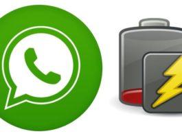 WhatsApp batería descarga