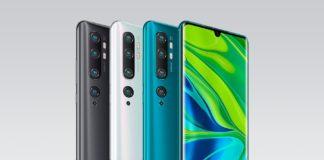 Xiaomi Mi Note 10 precio disponibilidad España