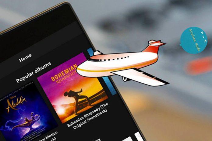 Android 11 modo avión