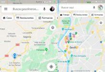 Google Maps diseño
