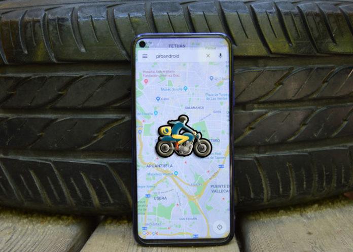Google Maps modo moto