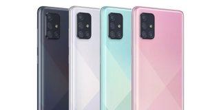 Samsung Galaxy A51 y A71