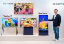 Samsung televisor vertical