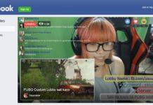Facebook retransmisión videojuegos