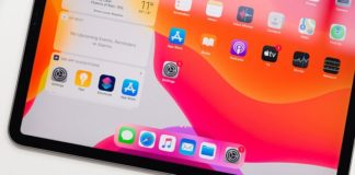 iPad Air Touch ID bajo pantalla