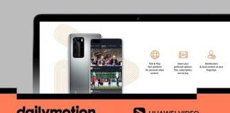 Huawei Dailymotion