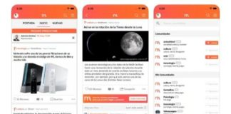 Menéame iOS Android