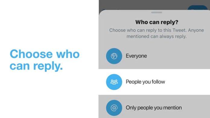 Vamos a explicarte cómo elegir quién puede responder a tus tweets en Twitter, una nueva opción con la que podrás limitar las respuestas a tus mensajes. De esta manera, si vas a publicar algo y no quieres que nadie responda, o que sólo puedan responder las personas cercanas a ti, esto es algo que ahora podrás limitar. Vas a tener tres configuraciones posibles, para que te puedan responder todos, sólo las personas a las que sigues o sólo a las que mencionas. Esta última opción permite que, si no mencionas a nadie, no pueda responder nadie a tus mensajes publicados. La opción la vas a tener integrada en el cuadro de escribir el tweet, por lo que podrás cambiarlo siempre que quieras. Te vamos a explicar los pasos a dar tanto en la aplicación móvil como en la web de Twitter. De momento es una función que está empezando a implementarse, por lo que todavía no la tenemos todos disponibles. Si no las ves a la hora de publicar, tendrás que esperar unos días y mantener Twitter siempre actualizado hasta que te aparezca. Búsquedas avanzadas en Twitter: comandos y operadores para exprimirlas al máximo EN XATAKA Búsquedas avanzadas en Twitter: comandos y operadores para exprimirlas al máximo Elige quién responde a tus tweets en la app Nuevo Tuit En la aplicación móvil de Twitter, tanto Android como en iOS una vez se te active la opción, lo único que tienes que hacer es pulsar sobre el botón de crear una nueva publicación que tienes abajo a la derecha. Es igual que a la hora de crear cualquier otro tweet. Pulsa Opcion Ahora, encima de la fila de opciones que hay debajo del texto de tu tweet tienes que pulsar donde pone Cualquier persona puede responder. Esta es la opción aparecerá por defecto, que es el modo abierto en el que Twitter siempre ha funcionado, y lo que despliega las opciones para cambiar quién puede responder. Si no ves esta opción, es que tu cuenta de Twitter todavía no ha sido actualizada para permitirlo. Elige Quien Responde Tras pulsar en Cualquier persona puede re