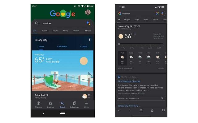app Google Modo Oscuro