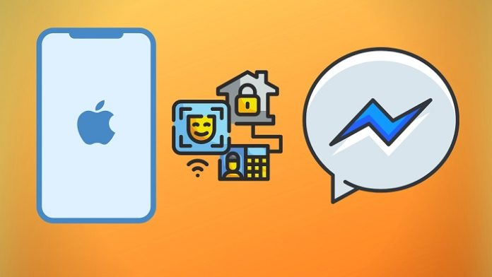 Facebook Messenger Face ID y Touch ID