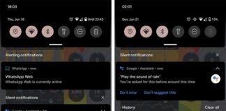 Google Assistant diseño