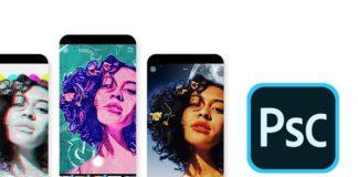 Photoshop Camera iOS Android