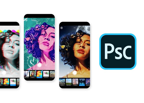 Photoshop Camera iOS Android