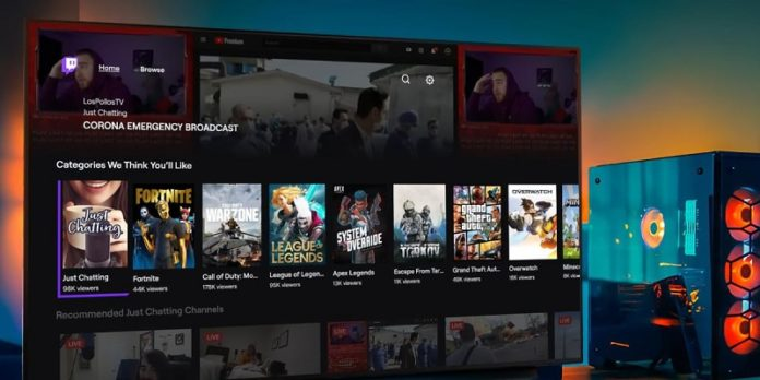 Twitch LG Smart TV