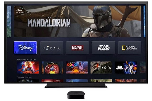 Disney+ Apple TV