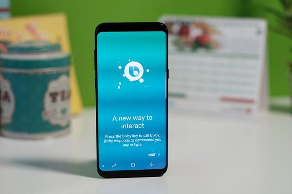 Samsung Google Assistant Bixby