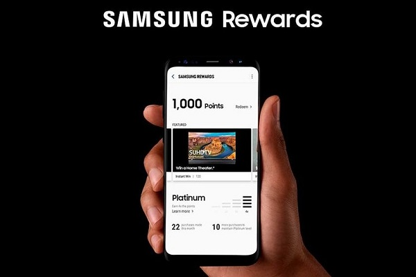 Samsung Rewards Galaxy Store