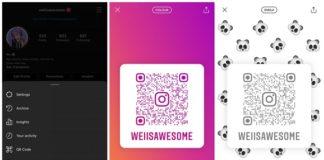 Instagram códigos QR universales