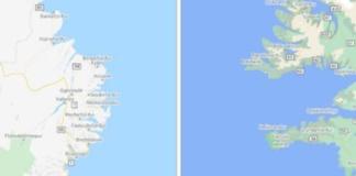 google maps paisajes