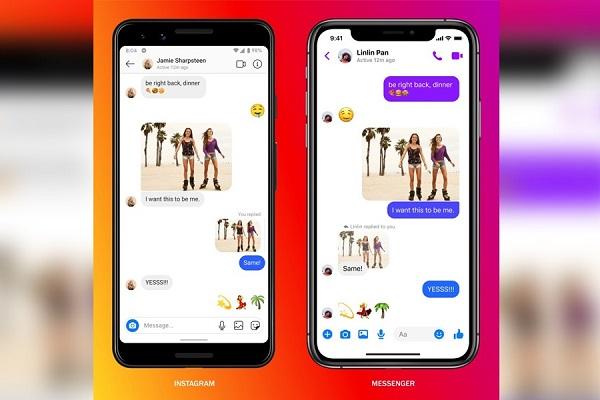 Instagram Messenger chats