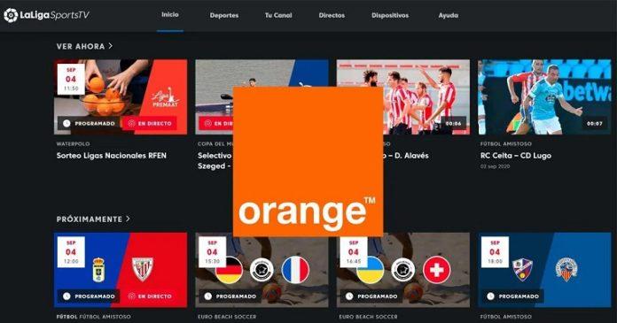 Orange TV app LaLiga deco 4K Android TV