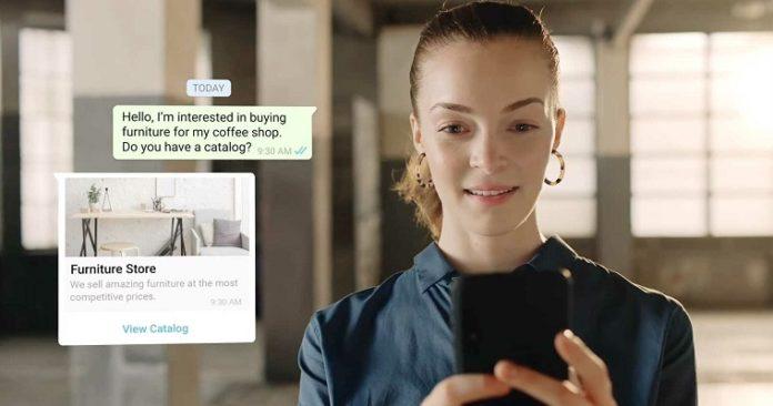 WhatsApp Business compras