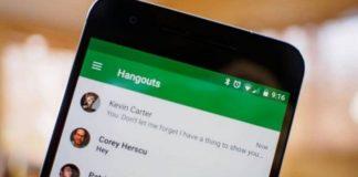 Google Hangouts videollamadas