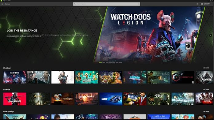 Nvidia GeForce Now iPhone y iPad web