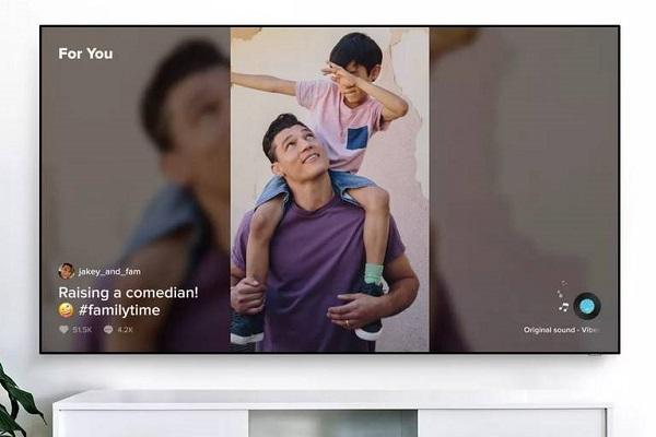 TikTok Smart TV Samsung