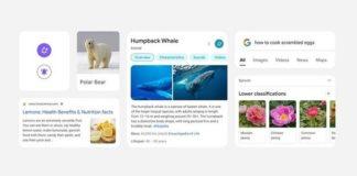 Buscador de Google Android