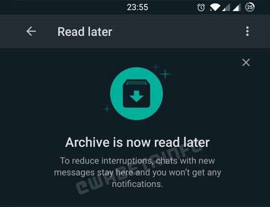WhatsApp Leer después
