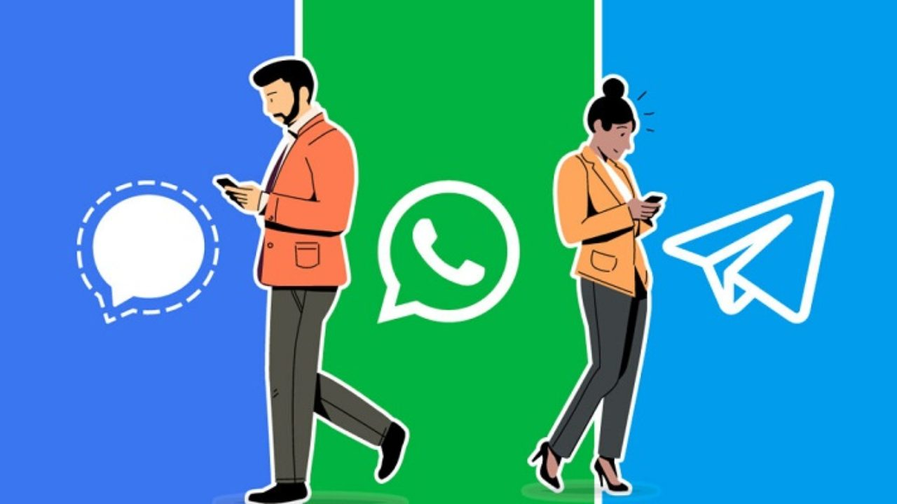 Signal y Telegram, beneficiadas por los usuarios que abandonan WhatsApp    Universo Digital Noticias