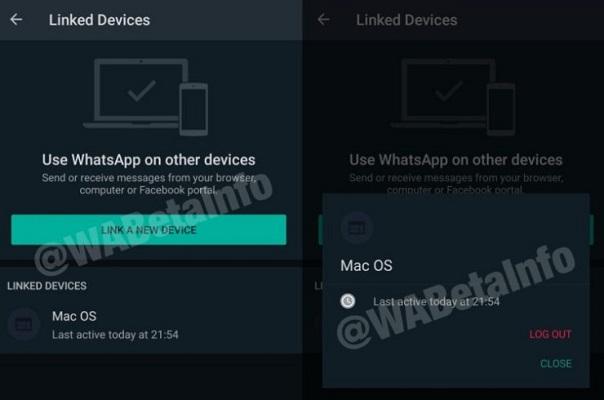WhatsApp Web soporte multidispositivo