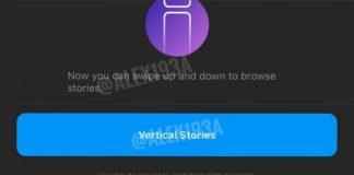 Instagram stories feed vertical