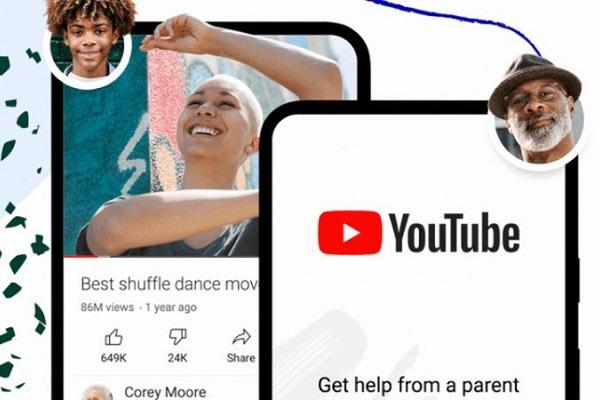 YouTube control parental adolescentes