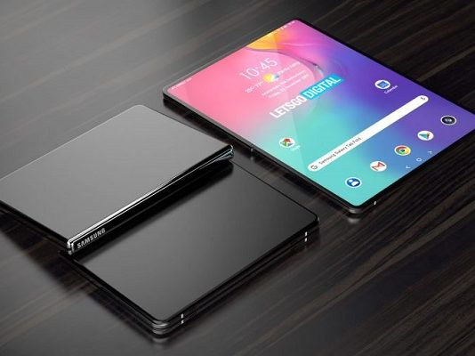 Samsung Galaxy Tab plegable