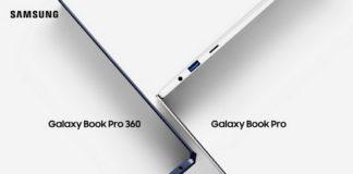 Samsung nuevos portátiles Galaxy Book Pro