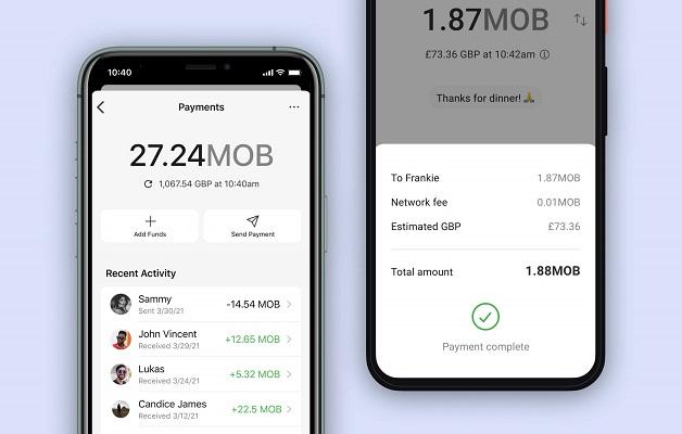 Signal pagos MobileCoin