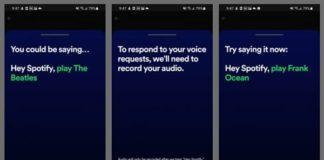 Spotify asistente de voz