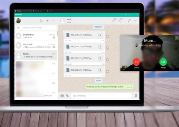 WhatsApp videollamadas PC