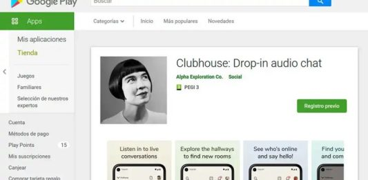 Clubhouse Play Store