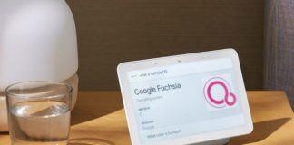 Google Fuchsia Nest Hub